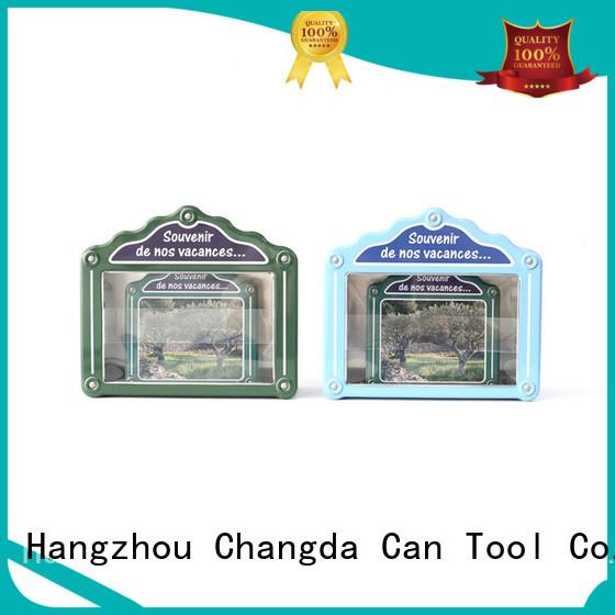 Changda tin box set light weight factory supply