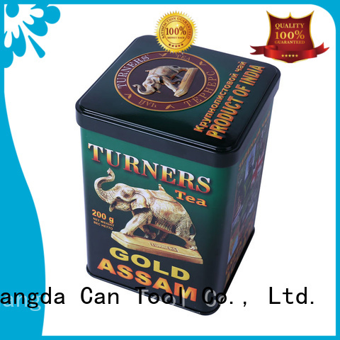 Changda metal tins wholesale factory supply
