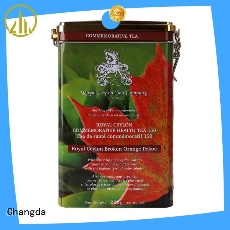 Changda tea tins wholesale stainless