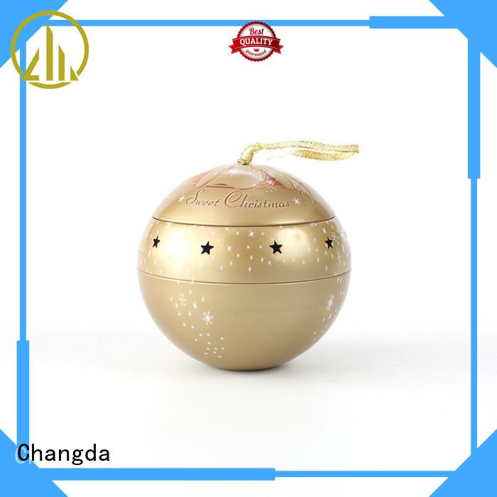 Changda wholesale tin ball for customization