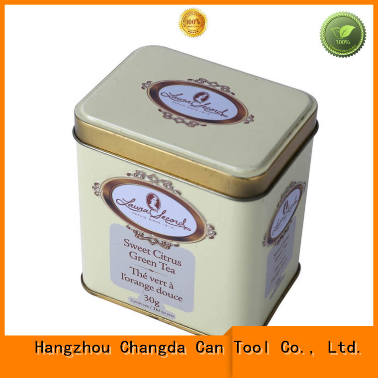 popular tea storage tins hot-sale food grade