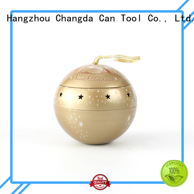 Changda hot-sale tin ball fast delivery for customization