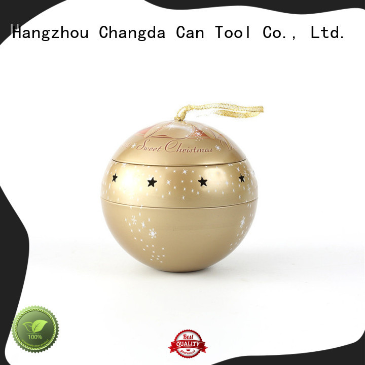Changda wholesale red christmas balls professional manufacturer for gift packing