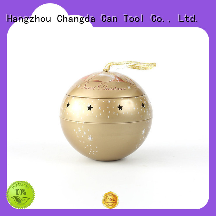 Changda hot-sale tin ball for gift packing