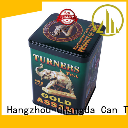 hot-sale coffee tin box fast delivery for gift