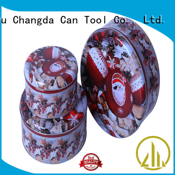 Changda storage tins high quality for packing