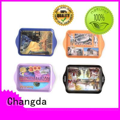 Changda oem&odm metal tray for bar